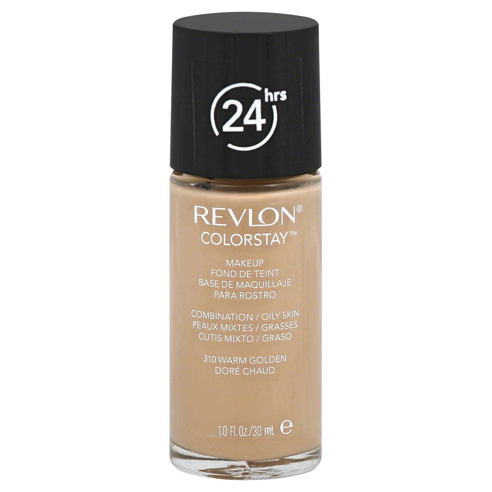 Revlon ColorStay Liquid Makeup for Combination Oily - Warm Golden, 1oz