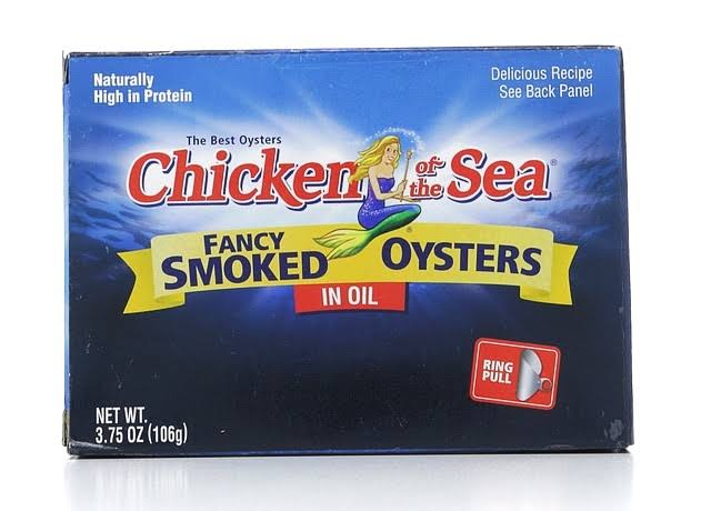 Chicken of the Sea Fancy Smoked Oysters - in Oil, 3.75oz