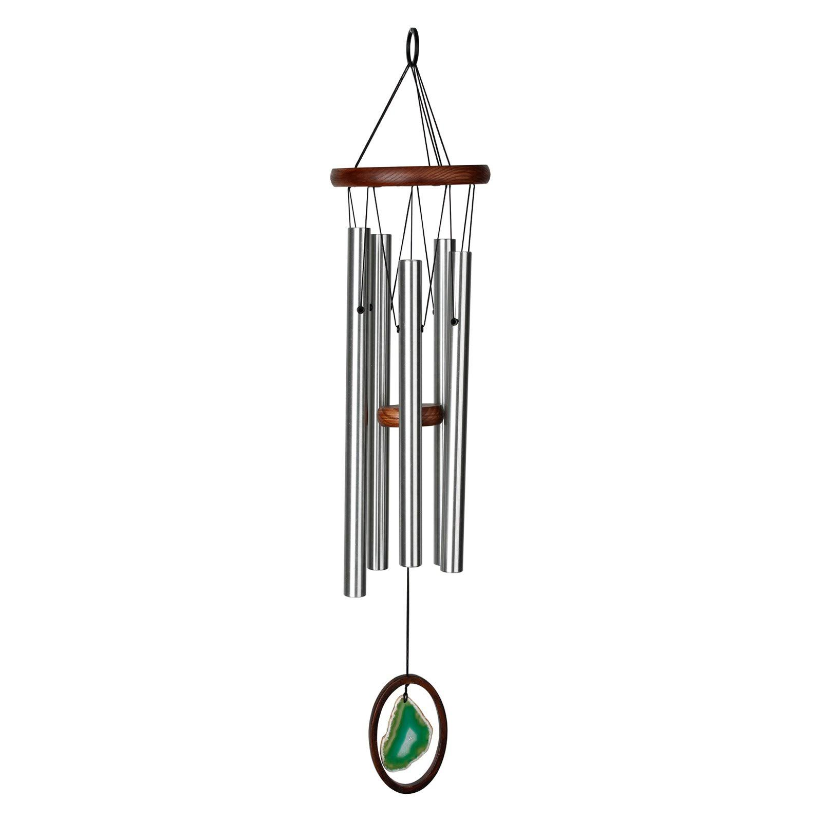 Woodstock Chimes Agate Chime - Large, Green