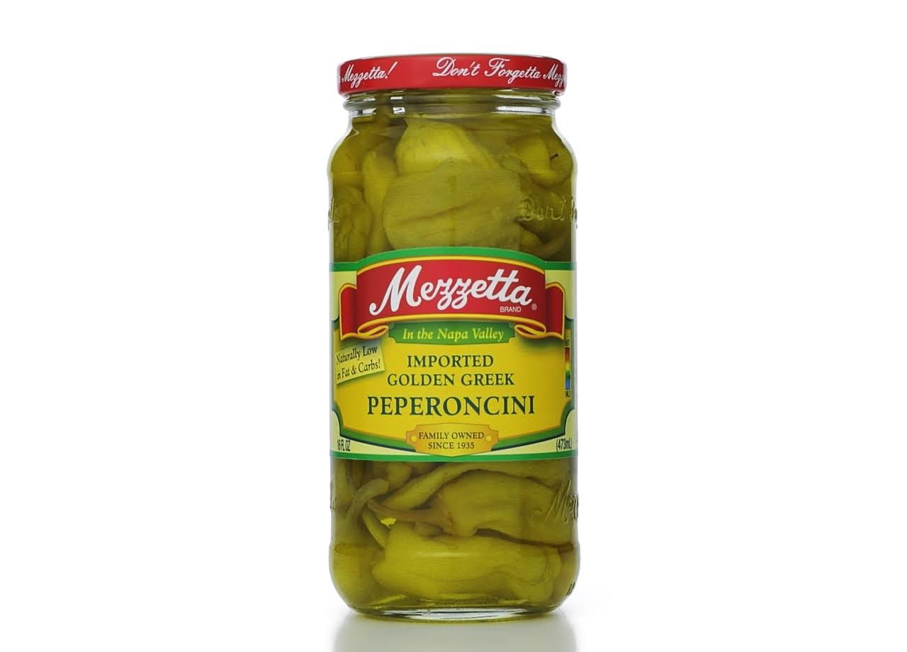 Mezzetta Imported Golden Greek Peperoncini - 16oz
