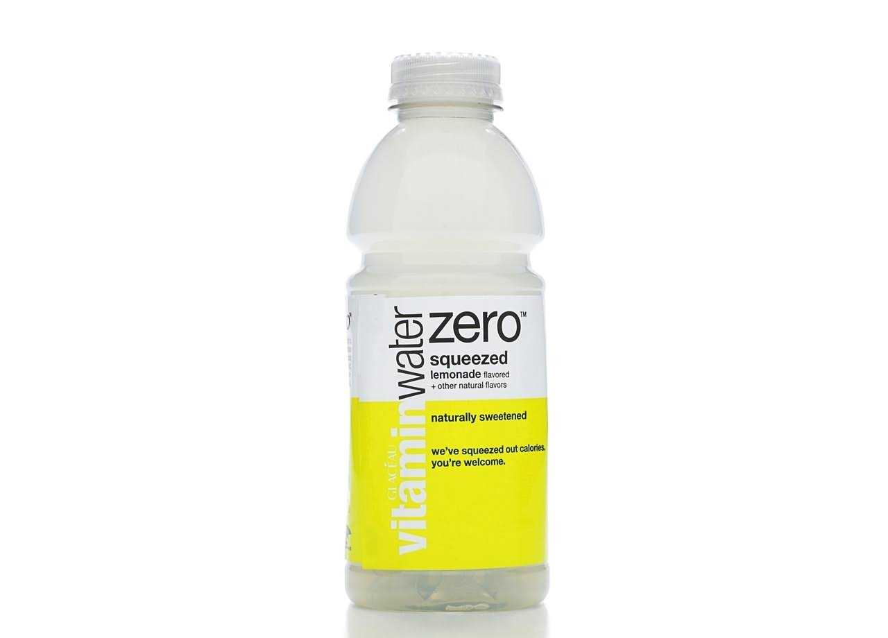 Vitaminwater Zero Water Beverage, Nutrient Enhanced, Squeezed Lemonade - 20 fl oz