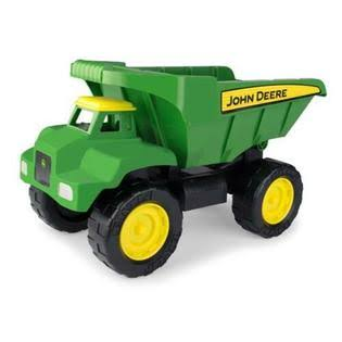 John Deere Big Scoop Dump Truck Toy - 38cm