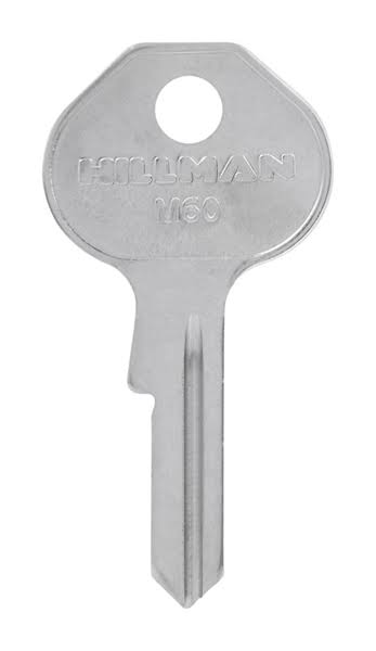 Hillman Padlock Universal Key Blank Single Sided 85736