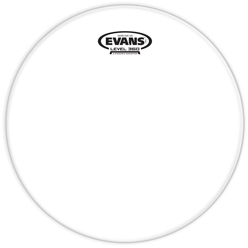 Evans Clear 300 Snare Side Drum Head - 14in