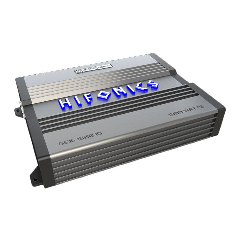Hifonics GEX-1300.1D 1300W MONOBLOCK 1 Ohm Stable Super D Class Car Amplifier