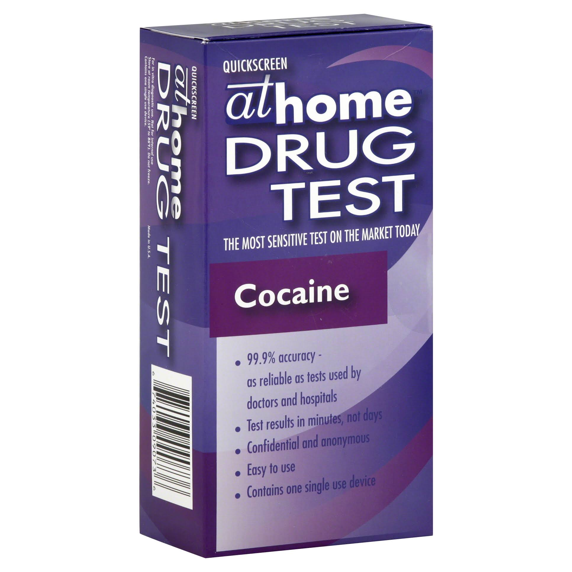 At Home Drug Test - Cocaine