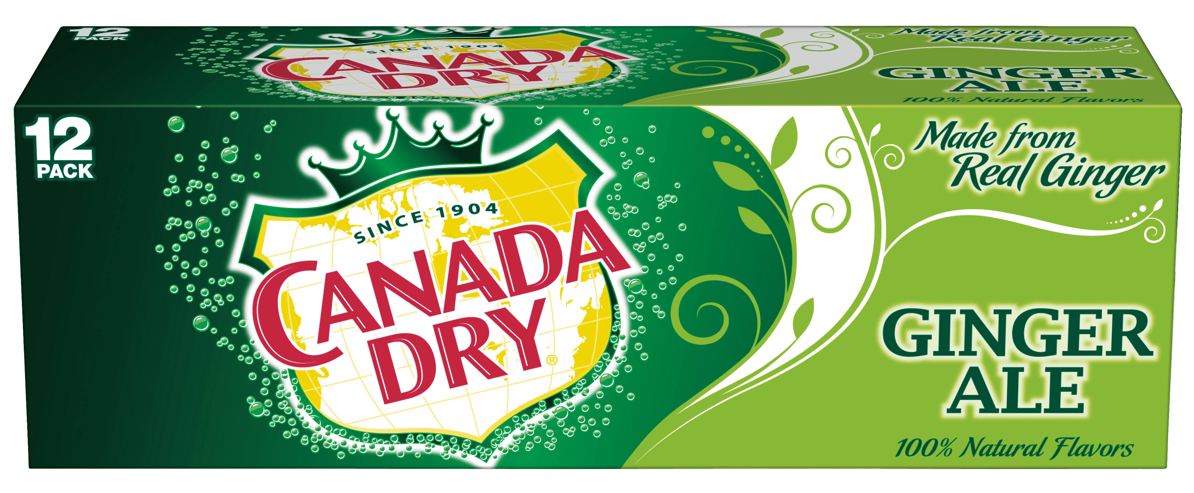 Canada Dry Ginger Ale - 12 ct