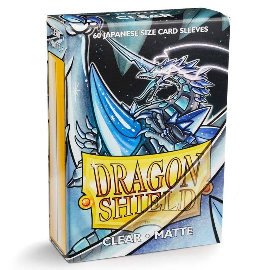 Dragon Shield Small Card Sleeves - Matte Clear