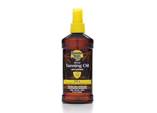 Banana Boat Dark Tanning Oil Spray - Spf 4, 236ml