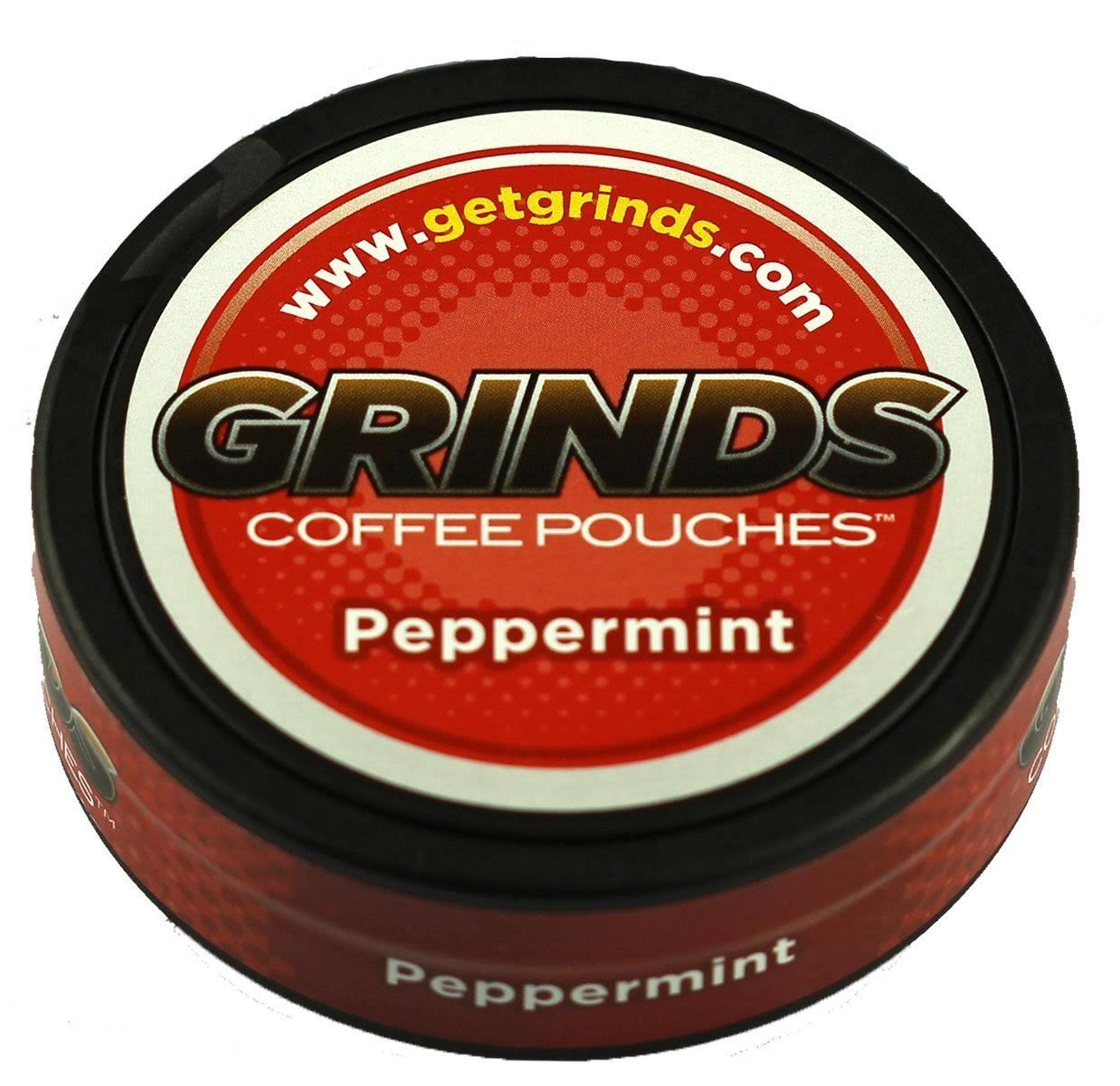 Grinds Coffee Pouches - Peppermint