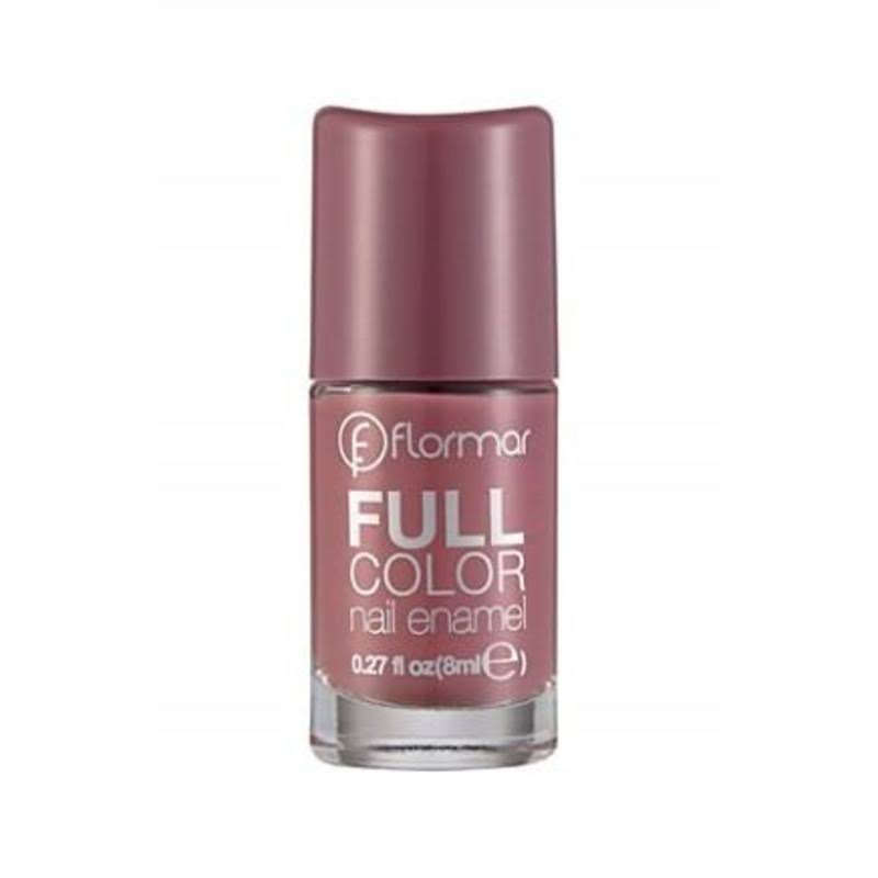Flormar Full Color Nail Enamel - Berry Brown, 8ml