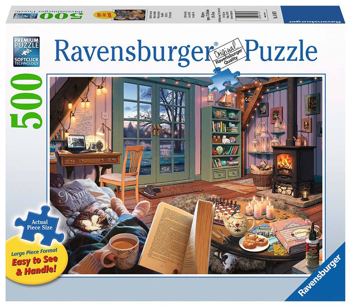 Ravensburger Cozy Retreat 500 Piece Puzzle