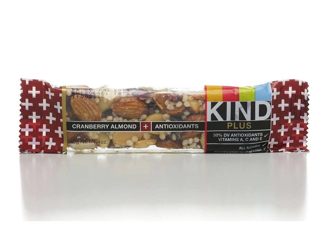 Kind Fruit & Nut Bar - Cranberry Almond & Antioxidants