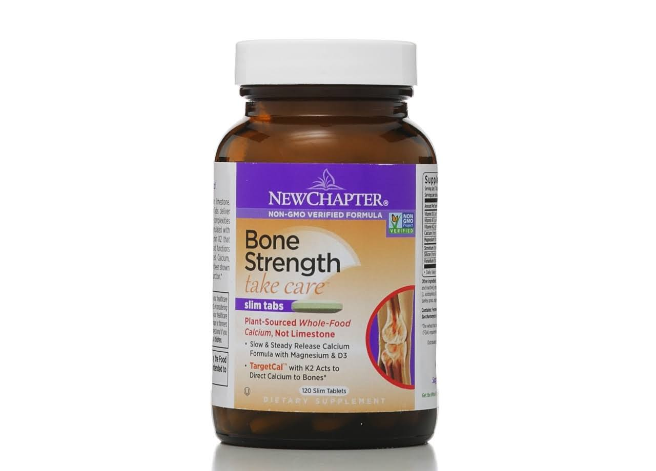 New Chapter Bone Strength Take Care Slim Tablets - 120 Tablets