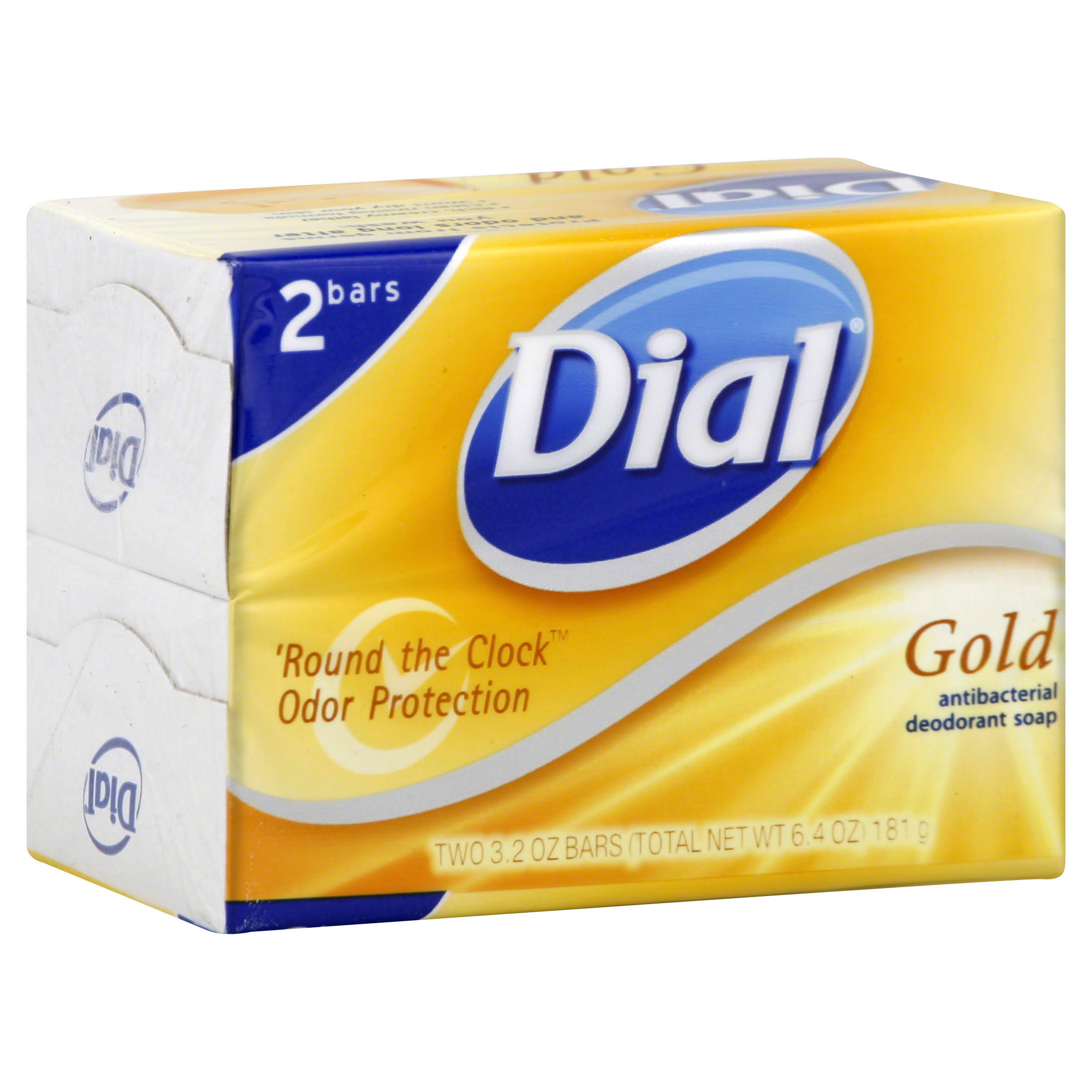 Dial Gold Antibacterial Deodorant Bar Soap - 2pk