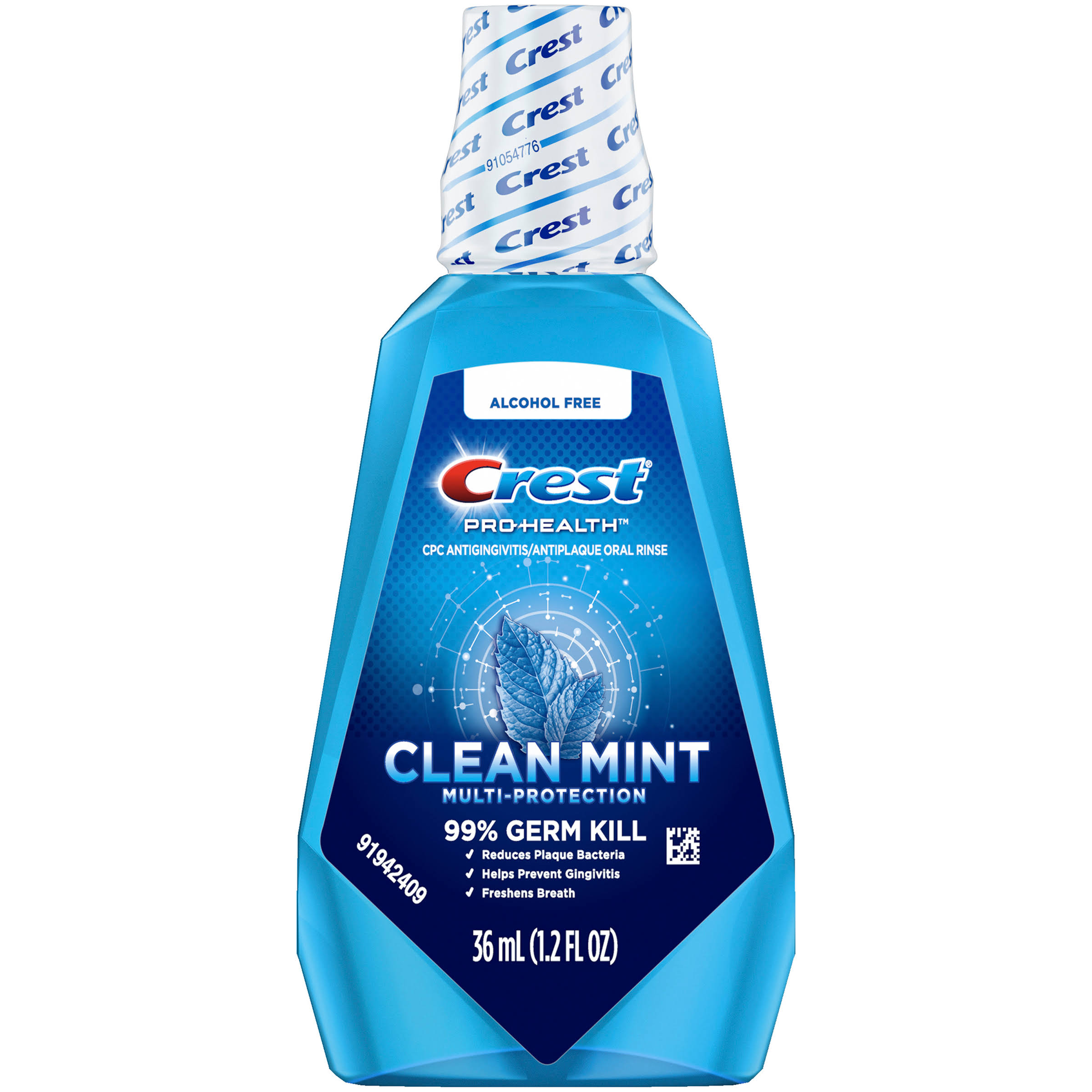 Crest Pro-Health Mouthwash - Refreshing Clean Mint, 36ml