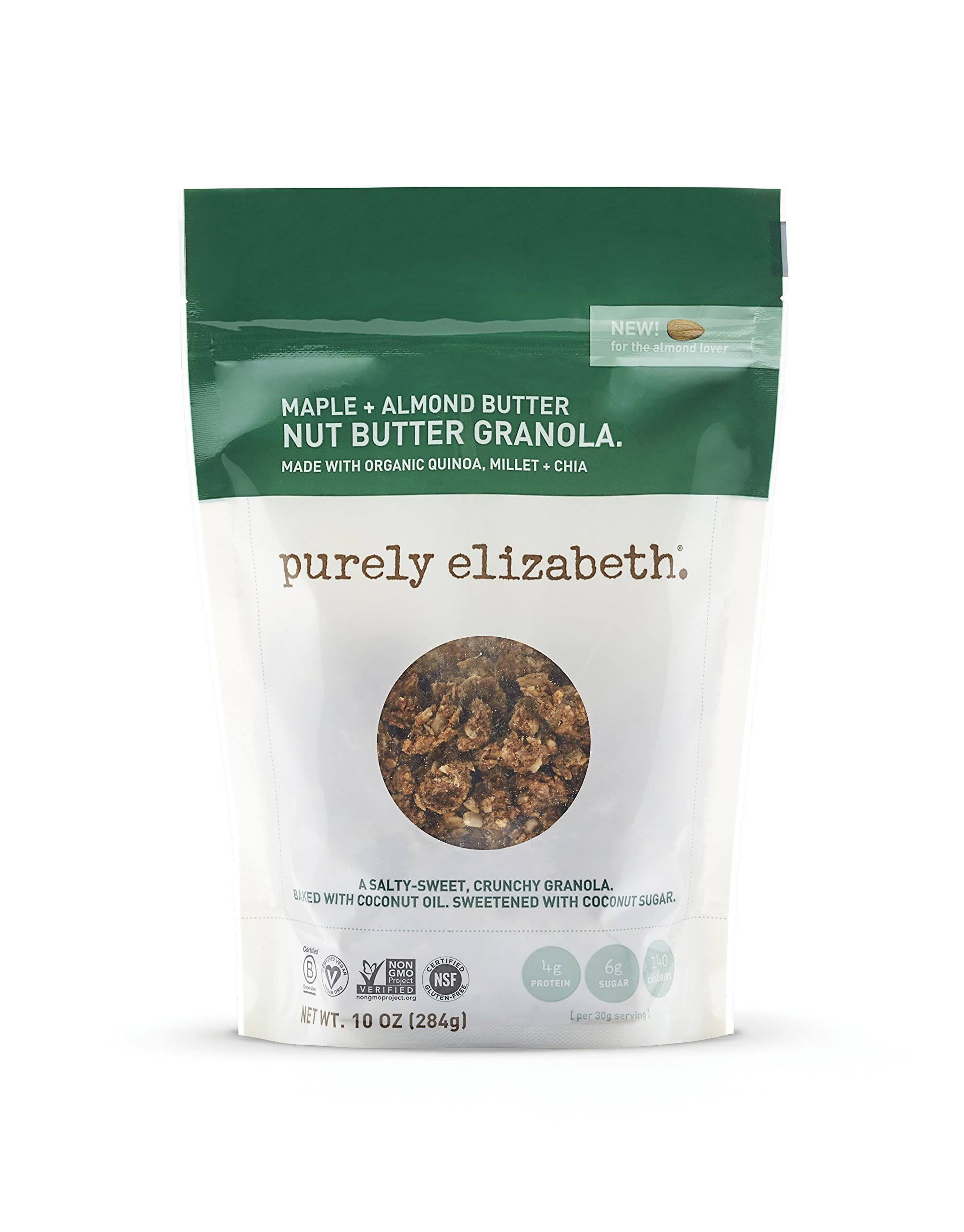 Purely Elizabeth Maple & Almond Butter Nut Butter Granola - 10oz