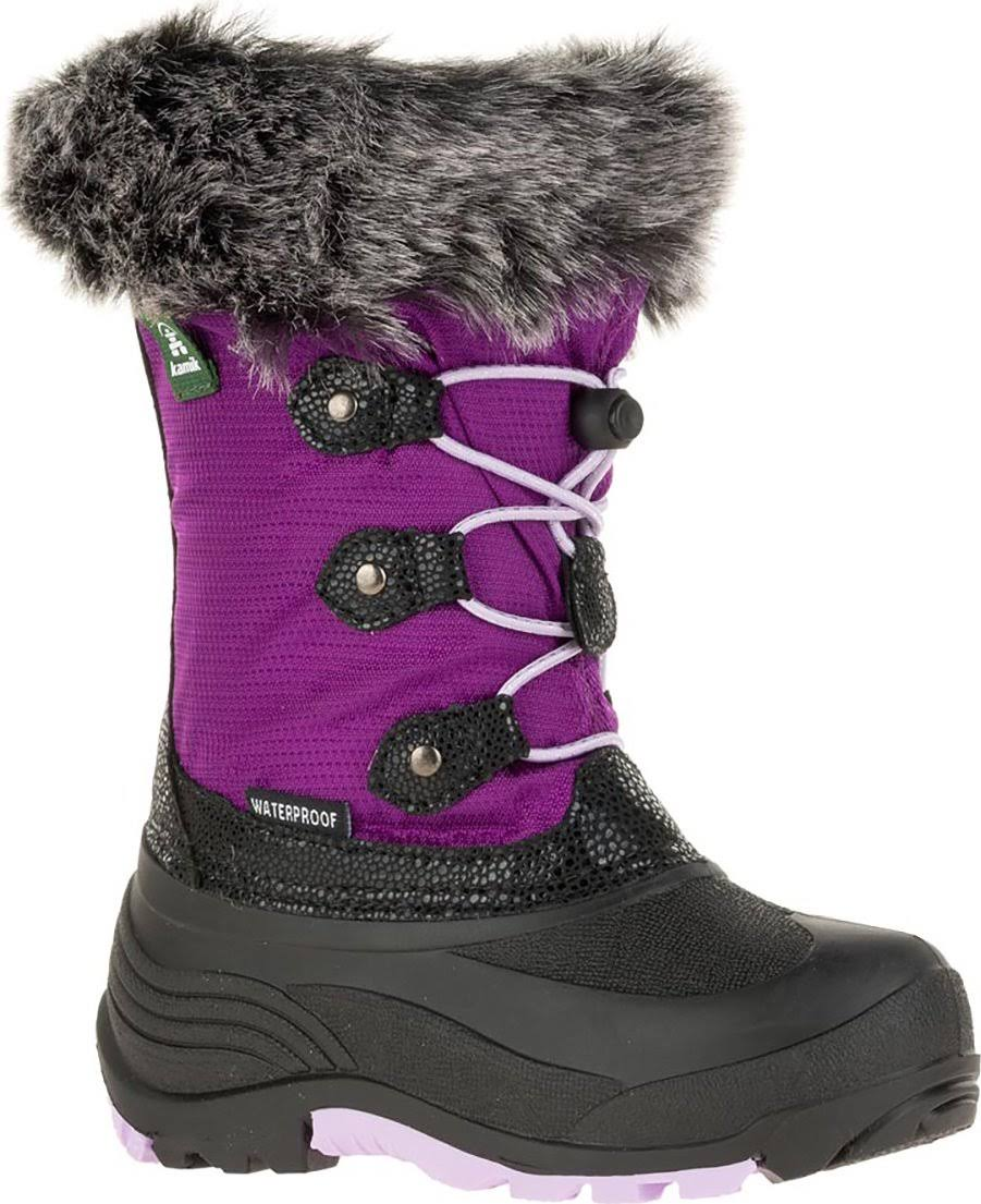 Kamik Powdery 2 Boot Little Girls', Grape, 11
