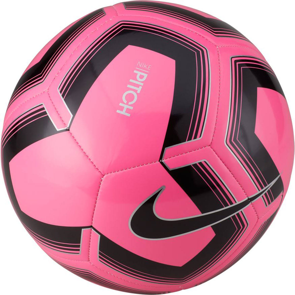 Nike Pitch Training Soccer Ball (Pink/Black) 4