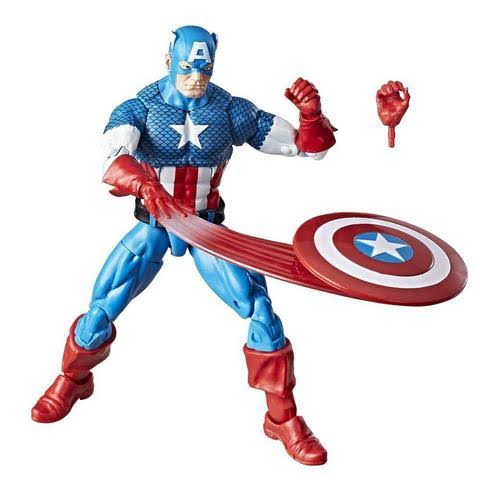Marvel Retro Collection Captain America Figure - 6""