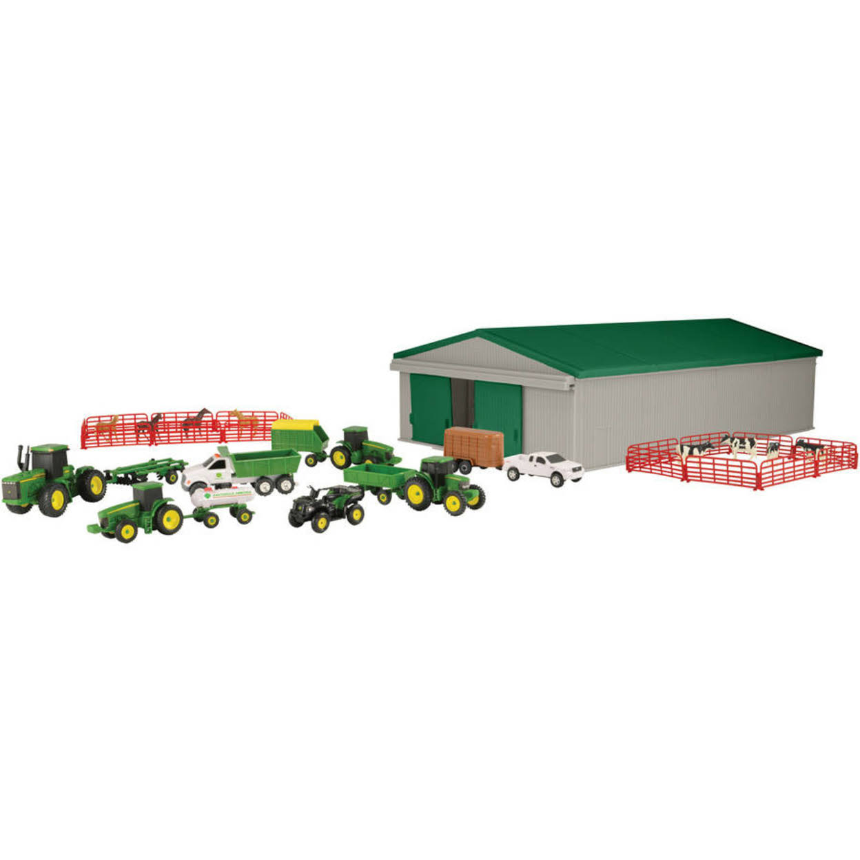Tomy International John Deere Value Set - 1:64 Scale, 70 Pieces