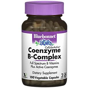 Bluebonnet Nutrition Cellular Active Coenzyme B Complex Dietary Supplement - 100ct