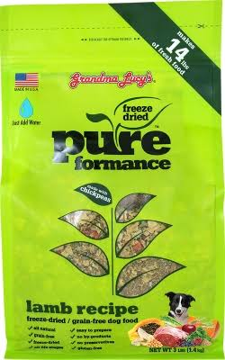 Grandma Lucy's Pureformance Dog Food - Lamb & Chickenpeas