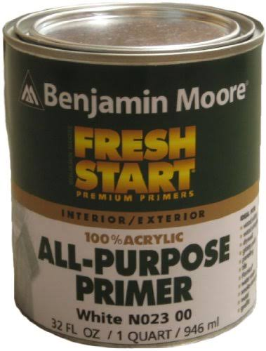 Benjamin Moore Fresh Start All Purpose Primer - 1 Quart