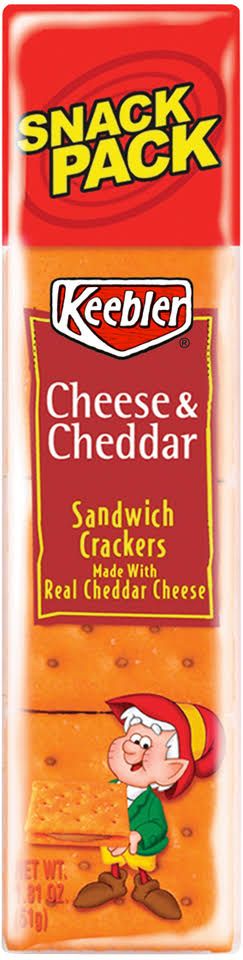 Continental Concession Keebler Cheese Crackers - 1.8oz