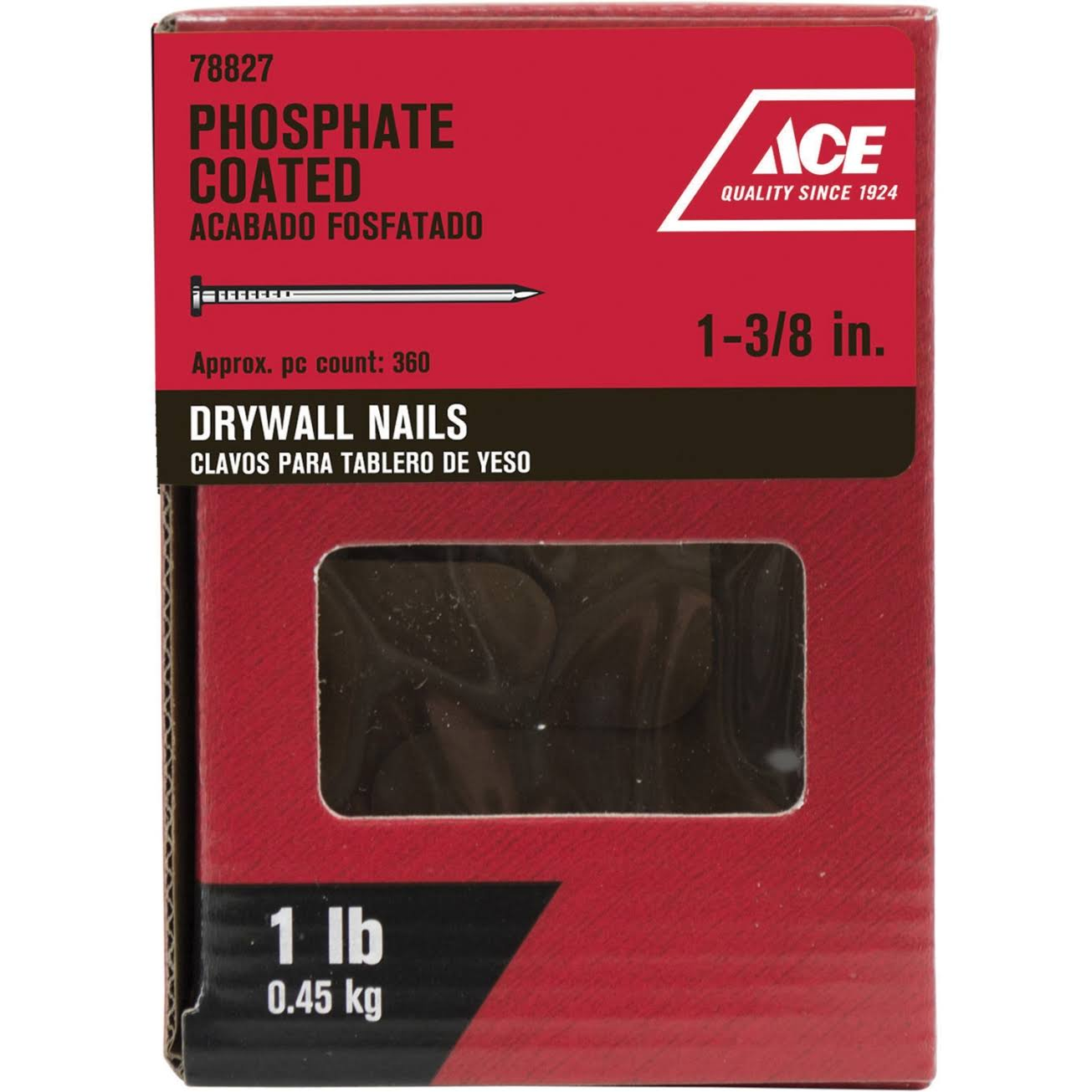 Fox Valley Steel And Wire Drywall Nails - Phosphate Coated
