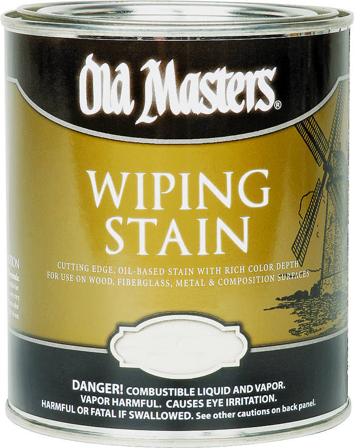 Old Masters Wiping Stain - Golden Oak