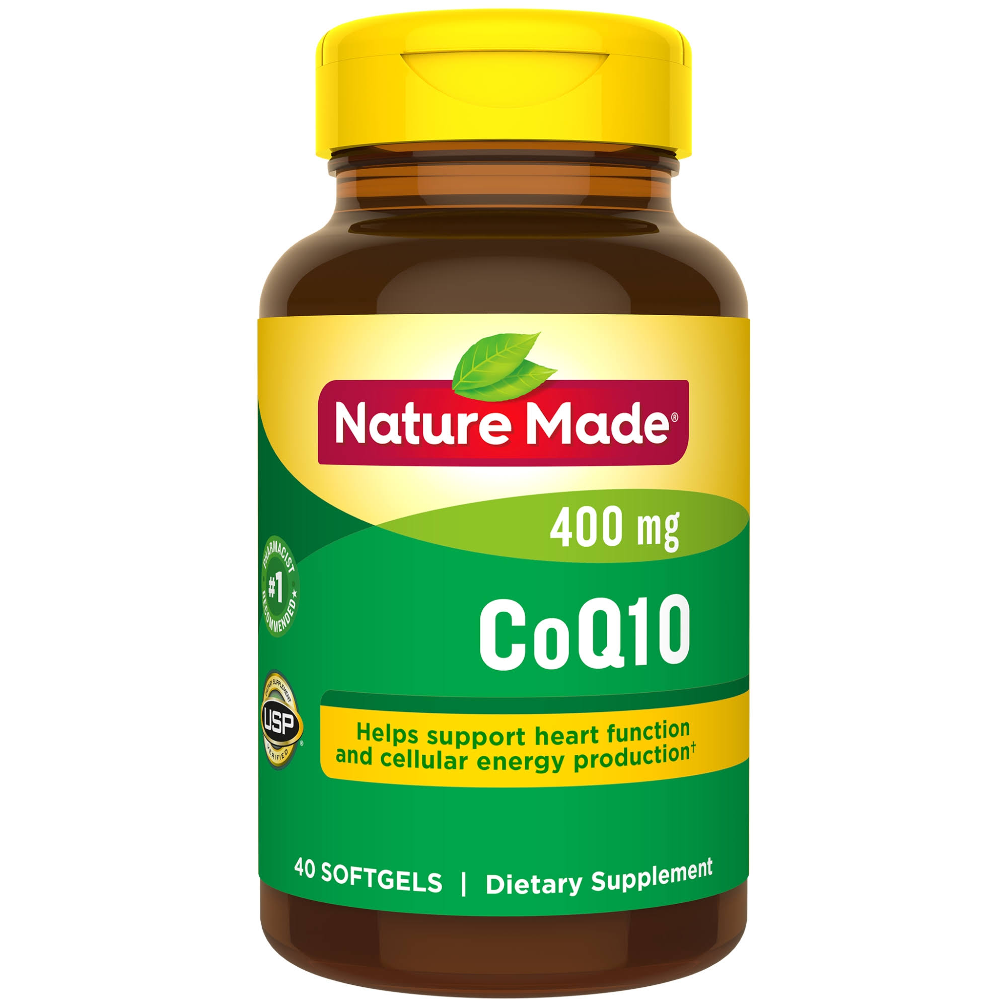Nature Made CoQ10 Softgels Dietary Supplement - 400mg, 40ct