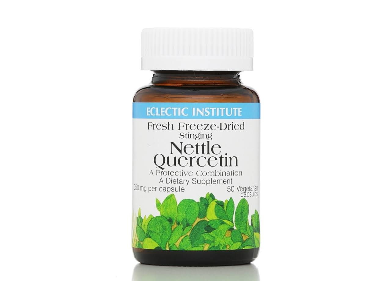 Eclectic Institute Nettle Quercetin Dietary Supplement - 50ct