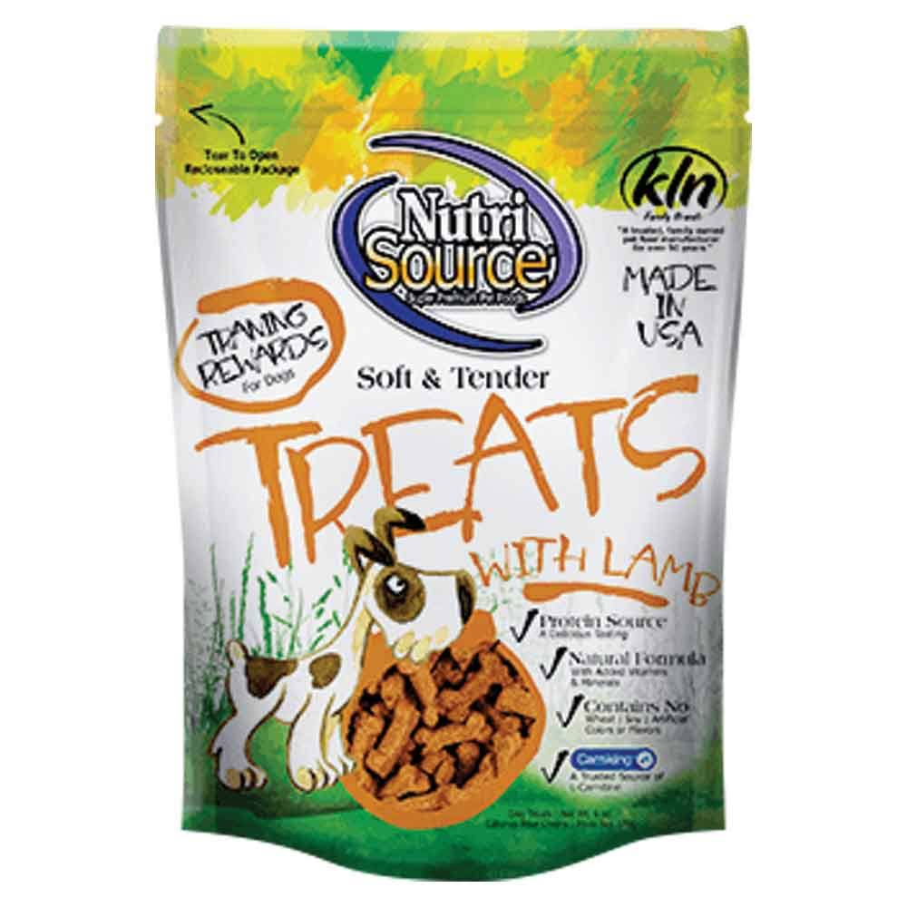 Nutri Source Soft & Tender Treats - Lamb, 6 oz