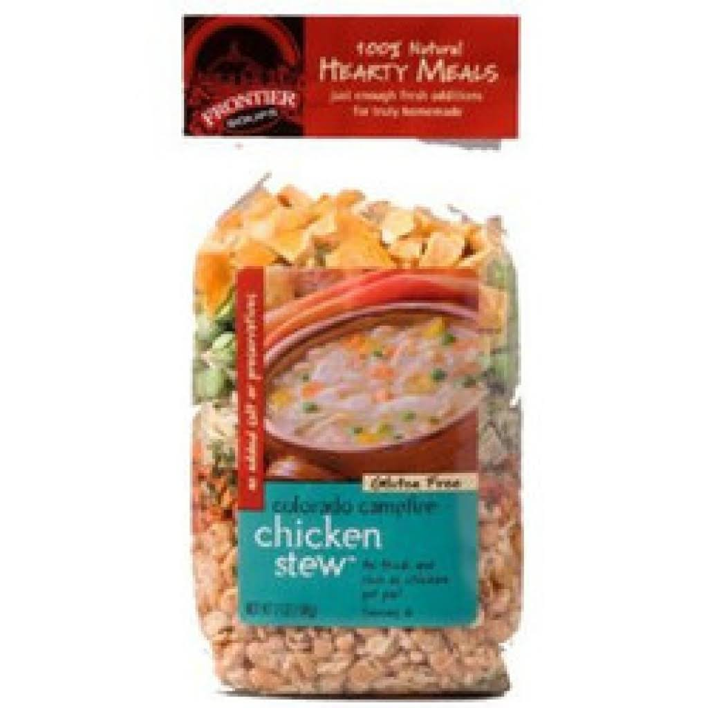 Frontier Soups Hearty Meal Soups Colorado Campfire Chicken Stew Mix - 7oz