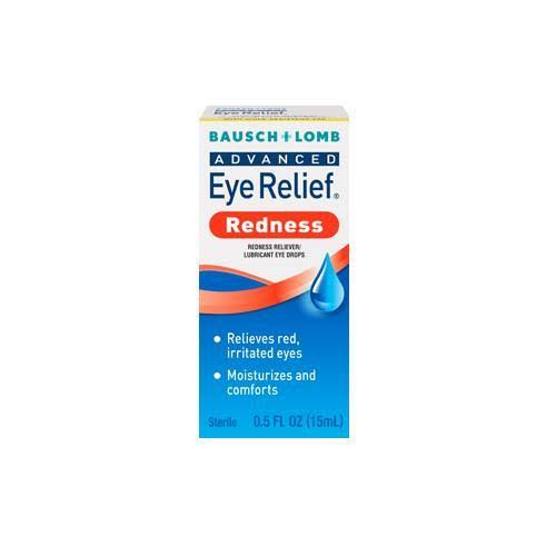 Bausch & Lomb Advanced Eye Relief Instant Redness Reliever - 0.5oz