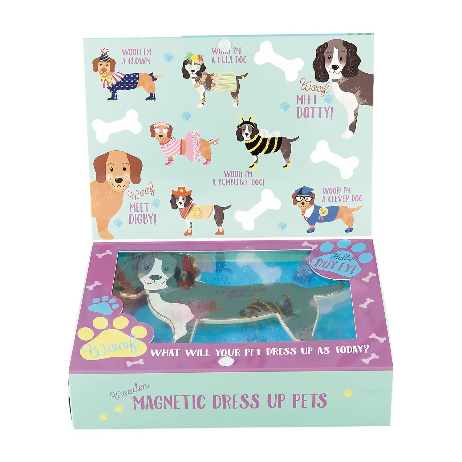 Floss & Rock Magnetic Wooden Dress Up Pets