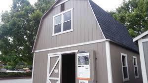 12x20 Storage Shed Kits by Home Depot Outdoor Storage Barn Summer Wind 16 U0027 X 16 U0027 Sku 624 043