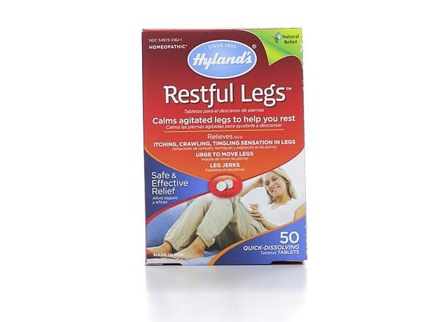 Hyland's Restful Legs Quick-Dissolving Tablets - 50 Tablets