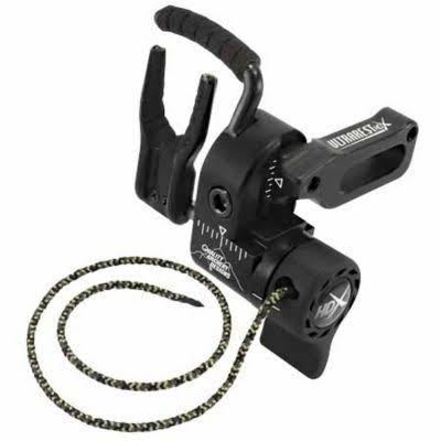 Quality Archery Products Hdx Arrow Rest - Right Hand, Black