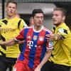 Lewandowski e Immobile reviven vieja rivalidad en el Lazio vs ...