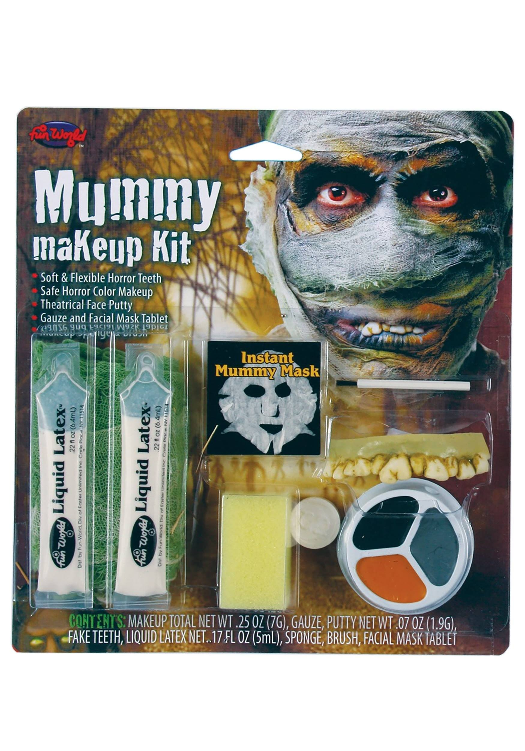 FunWorld Halloween Mummy Makeup Kit