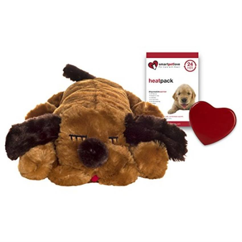 Snuggle Pet Products Snuggle Puppie Dog Toy - Brown Mutt