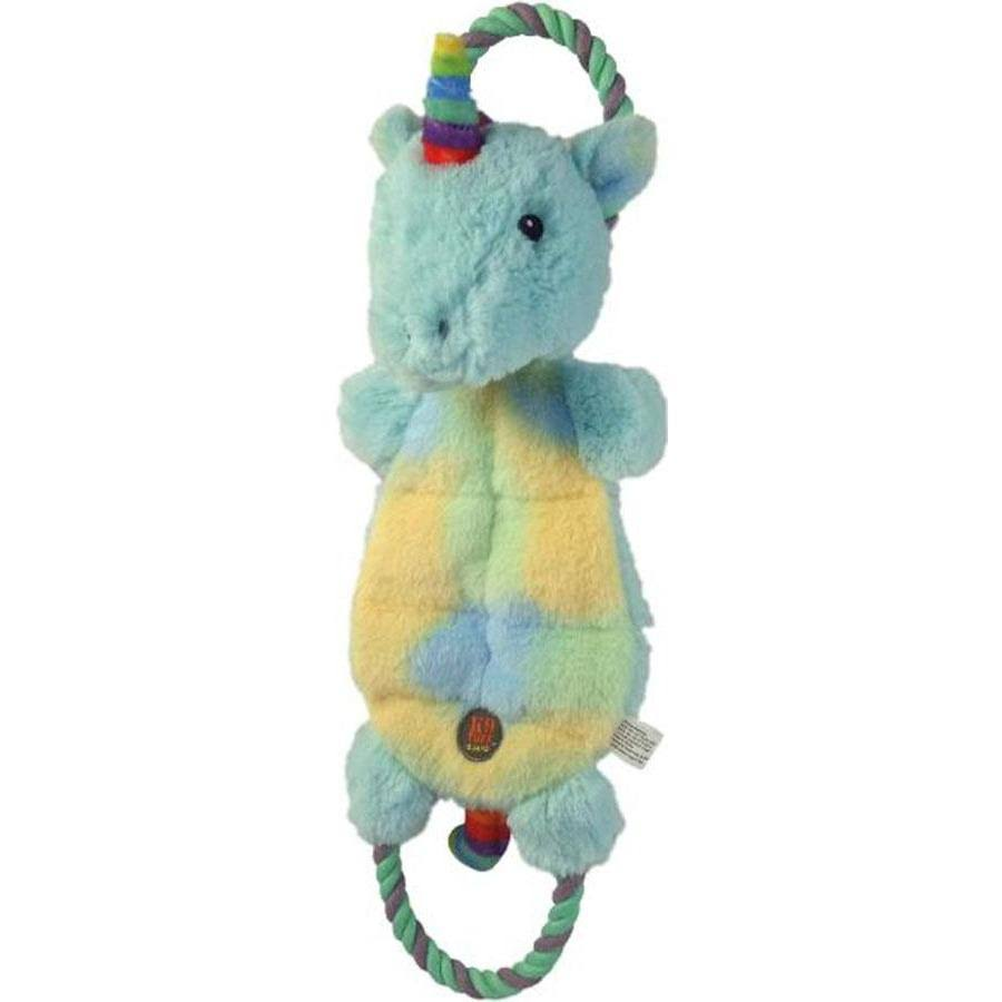 Charming Pet Magic Mats Unicorn Dog Toy, Blue