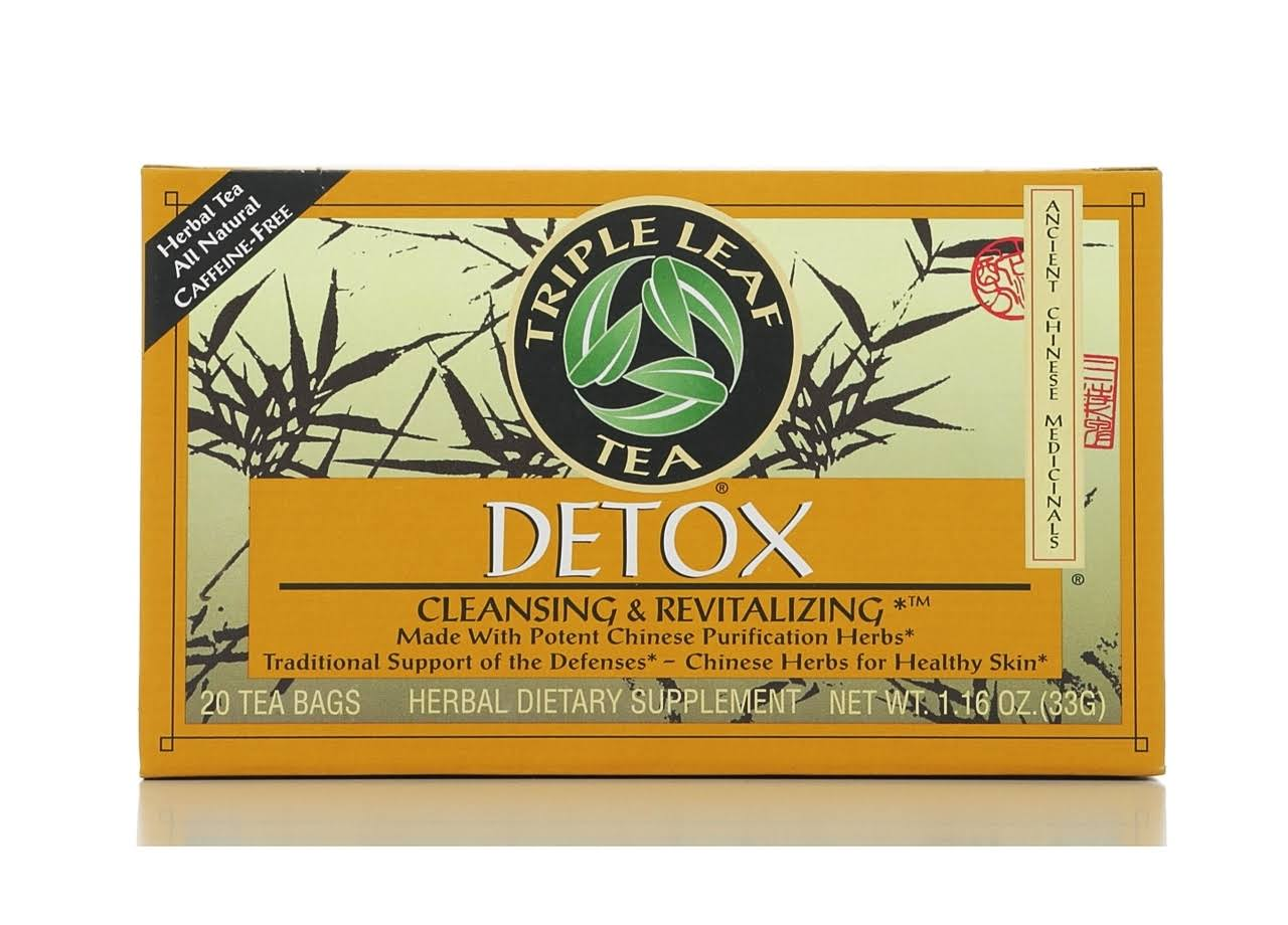 Triple Leaf Tea Detox Tea - 20 Tea Bags