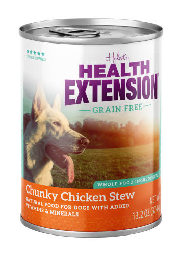 Health Extension Dog Food - Chunky Chicken Stew, 13.2oz
