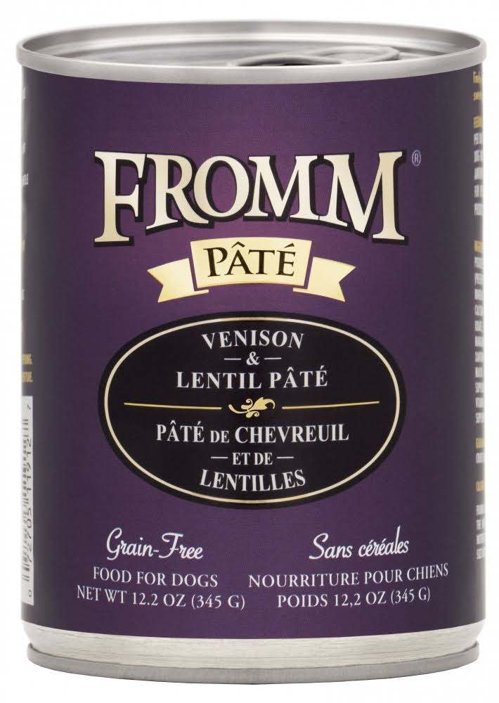 Fromm Grain Free Venison & Lentil Pate Dog Food