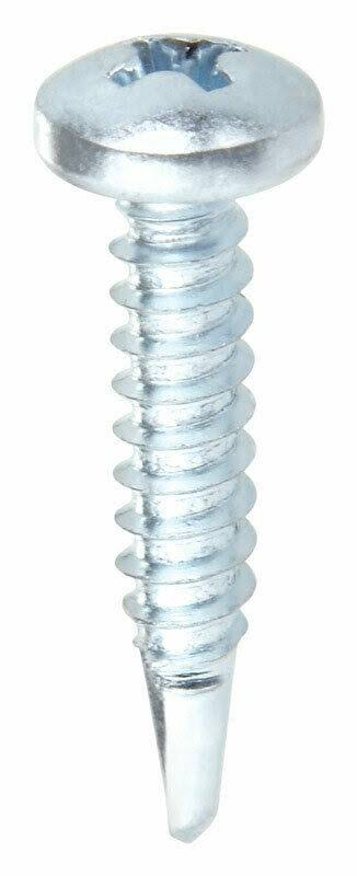 Stallion 5007727 No. 6 x 1.63 in. Phillips Bugle Head Zinc-Plated Steel Self-Drill Drywall Screw 1 lbs - Case of 12