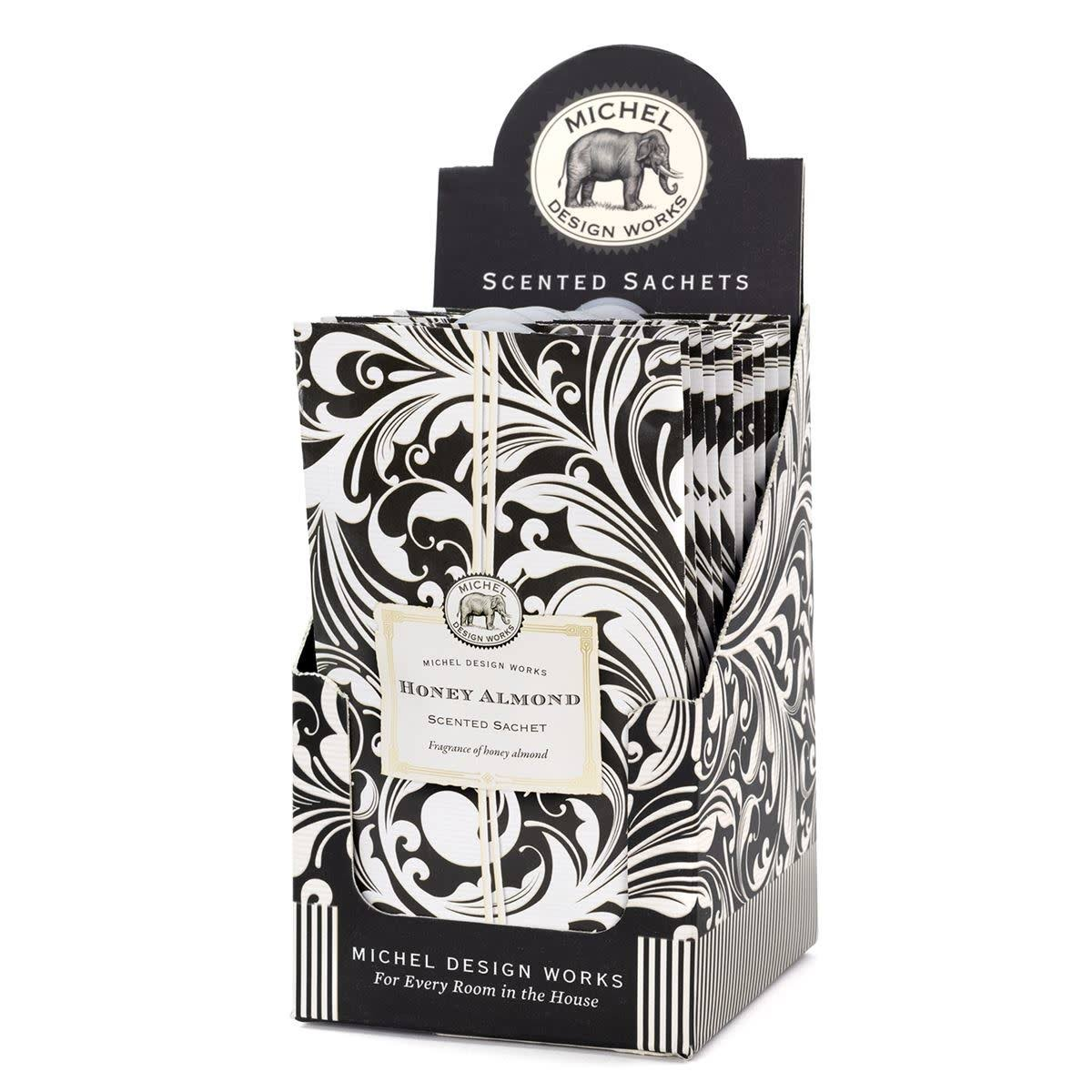 Michel Design Works Honey Almond Scented Sachet