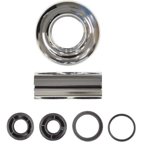 Danco Universal Tube and Flange Assembly - Chrome